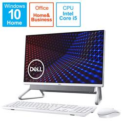 DELL(デル) FI557-AWHBSC デスクトップパソコン Inspiron 24 5400 シルバー [23.8型 /HDD:1TB /SSD:256GB /メモリ:8GB /2020年秋冬モデル]