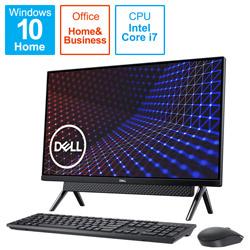 DELL(デル) FI779-AWHBBC デスクトップパソコン Inspiron 27 7700 ブラック [27型 /HDD:1TB /SSD:512GB /メモリ:8GB /2020年秋冬モデル]