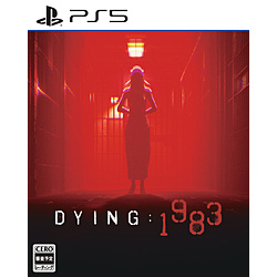 【特典対象】 DYING: 1983 【PS5ゲームソフト】 ◆メーカー特典「スチールボックス・ステッカー」