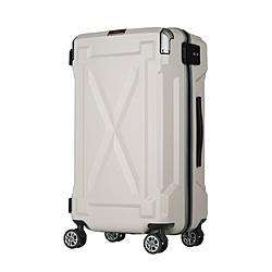 防水仕様スーツケース 35L OUTDOOR(アウトドア) アイボリー 6304-49-IV [TSAロック搭載]
