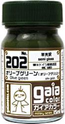 ミリタリーカラーシリーズ 202 オリーブグリーン (半光沢)
