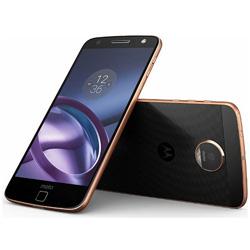 モトローラ(Motorola) Moto Z 64GB ブラック/ゴールド 「AP3827AE7J4」 Android 6.0・5.5型・メモリ/ストレージ:4GB/64GB nano×2 SIMフリースマートフォン