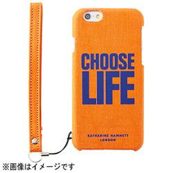 iPhone 6用 カードポケットケース チューズライフ KATHARINE HAMNETT LONDON×Simplism TR-KHIP144-CO