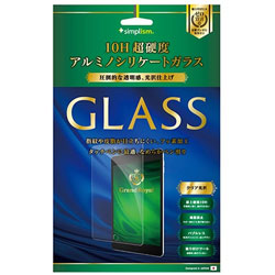 12.9インチiPad Pro / iPad Pro用 アルミノシリケートガラス 光沢 Simplism TR-IPD1712-GL-PC