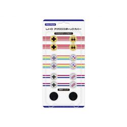 PS3/PS4用 レトロ アナログスティックカバー [CC-RASC-EC]