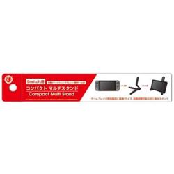 コンパクトマルチスタンド (Switch用/各種スマートフォン/タブレット/携帯ゲーム機) [Switch] [CC-NSCMS-BK]