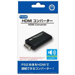 HDMIコンバーター (PS2用) [CC-P2HDC-BK]
