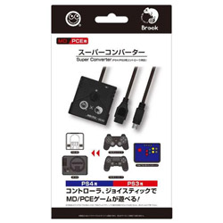 MD/PCE用 スーパーコンバーター (PS4/PS3用コントローラ対応) [CC-MLSCV-BK]