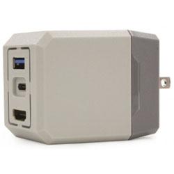 コロンバスサークル コンパクトドックアダプタ(Switch用) CC-NSCDA-GR