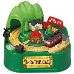 TRAIN BANK 2番線 電車