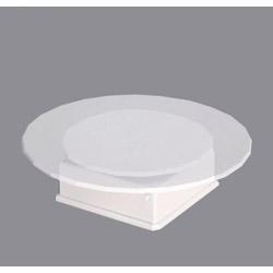 バッテリータイプターンテーブル ホワイト(電池式)