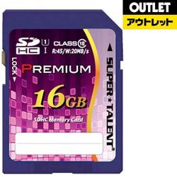 SDHCカード [16GB /Class10] SUPERTALENT ST16SU1P