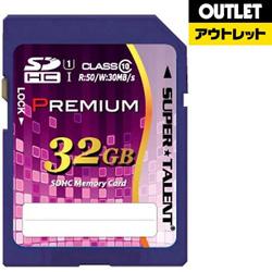 SDHCカード [32GB /Class10] SUPERTALENT ST32SU1P