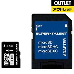 8GB・UHS Speed Class1(Class10)対応microSDHCカード(SDHC変換アダプタ付) ST08MSU1P