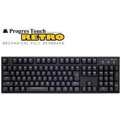 ProgresTouch RETRO AS-KBPD08/SRBKN 静音赤軸 日本語配列