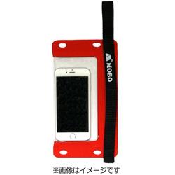 スマートフォン用防水バッグ[5.5インチまで対応] ハンドストラップ/ネックストラップ/カラビナ付 AM-BMB-RD01 レッド Water Sports Mobile Bag