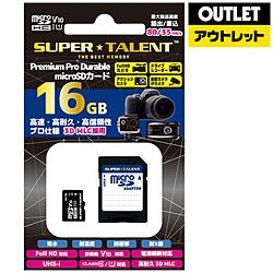 MLC 高耐久microSDカード ST16MSU1PD [16GB /Class10]