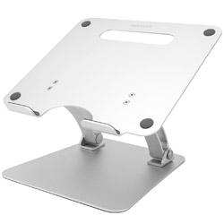 ARCHISS ARCHISS ノートパソコン/タブレット用アルミスタンド MacBook Pro / Air / iPad Pro対応 LIFT UP-STAND BY ME AS-LUBM-SL シルバー