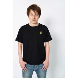 YamatoN デザインTシャツ (キャラクター) ブラック