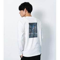東京カオス ロングTシャツ ホワイト