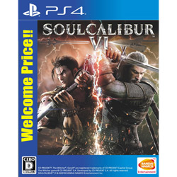 SOULCALIBUR VI Welcome Price!! 【PS4ゲームソフト】