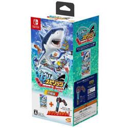 釣りスピリッツ Nintendo Switchバージョン同梱版(ソフト+専用Joy-Conアタッチメント for Nintendo Switch1セットつき)   BNEI-00072 [Switch]