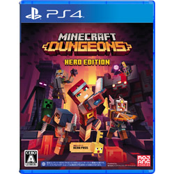 Minecraft Dungeons Hero Edition 【PS4ゲームソフト】