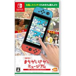 〔中古品〕右脳の達人 まちがいさがしミュージアム for Nintendo Switch