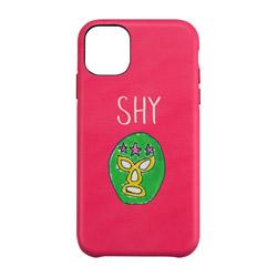 iPhone 11 Pro 5.8インチ ケース OOTD CASE SHY mask man UNI-CSIP19S-2OOSH