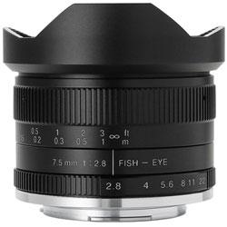 7Artisans 7.5mmF2.8 Fish-eye2 75M43B2 魚眼レンズ マイクロフォーサーズマウント