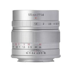 7Artisans 55mm F1.4 5514FXS フジフイルムXマウント用単焦点レンズ