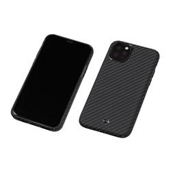 DEFF iPhone 11 Pro 5.8インチ用 アラミド繊維製 超軽量ケース DURO ブラック DCS-IPD19SKVMBK