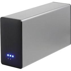 HDDケース 3.5インチ 2台[USB3.0/SATA・Mac/Win] RAID機能搭載 AOK-35RAIDU3-SL シルバー [2台]