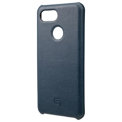 Italian Genuine Leather Shell Case for Pixel 3 Navy GSC72918NVY