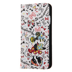 iPhone 8 Plus ディズニーキャラクター 手帳型アートケース ミニーマウス9 INDP7S6PMLC2MN009