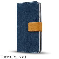 iPhone8/7(4.7)ファブリックカバー デニム インディゴブルー IN-P7SFBC5/IN