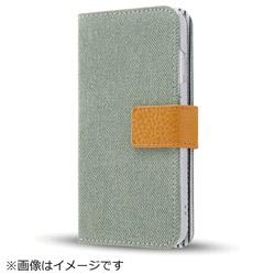 iPhone8/7(4.7)ファブリックカバー デニム アイスブルー IN-P7SFBC5/IA