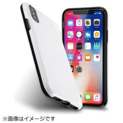 iPhoneX カラップ ホワイト IN-P8CP1/W