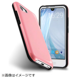 AQUOS R compact カラップ ペールピンク IN-AQRCOCP1/PP