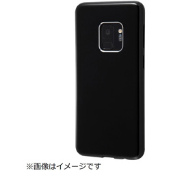 Galaxy S9 TPUソフトケース カラップ ブラック IN-GS9CP1/B