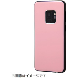 Galaxy S9 TPUソフトケース カラップ ピンク IN-GS9CP1/P