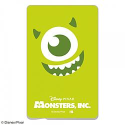 『ディズニー・ピクサーキャラクター』/ ICカード ステッカー IN-DICS/MI01 『モンスターズ・インク/クローズアップ マイク』