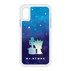 キャラバン Dr.STONE 【iPhoneX/Xs専用】グリッターiPhoneケース