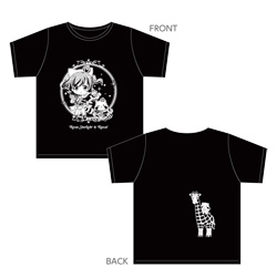 キャラバン 少女☆歌劇 レヴュースタァライト×ラスカル Tシャツ Mサイズ
