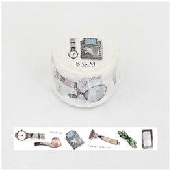 マスキングテープ スペシャルモノ心(ジェントルマン) 幅30mm×長さ7m BM-SPM007