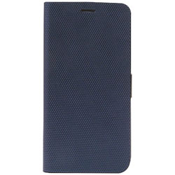 iPhone X用 Metallic Diary ネイビー Z10314I8