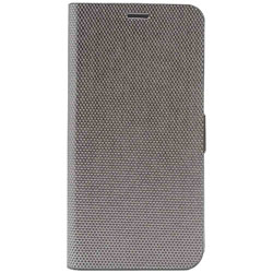 iPhone X用 Metallic Diary シルバー Z10315I8