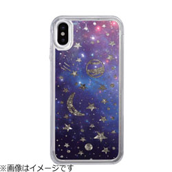 iPhone X用 Sparkle case Space IC10344I8