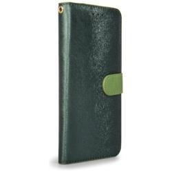 iPhone X用 手帳型 Calf Diary フォレストグリーン HAN10461I8