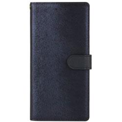 Galaxy S9+ CALF Diary ネイビーブルー 手帳型ケース HAN12537S9P